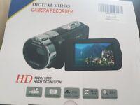 New in box Digital video camera recirder