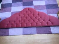 Pink Headboard for Kingsize Bed