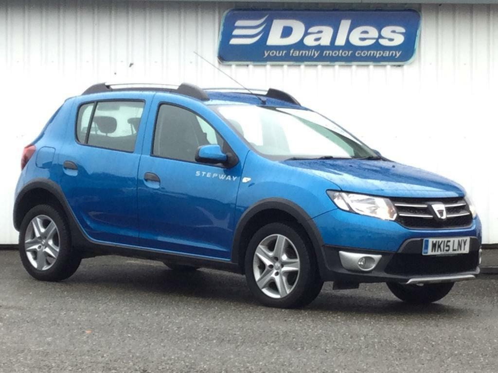 dacia sandero stepway 1 5 dci laureate 5dr azurite blue rpl 2014 in newquay cornwall gumtree. Black Bedroom Furniture Sets. Home Design Ideas