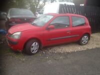 2003 RENAULT CLIO 1.2 FOR BREAKING