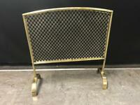 Vintage fire screen