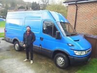Friendly and reliable man and van removal available - fridge, sofa, washing machine
