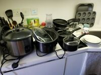 Rice Cooker, Induction Pots and Pans