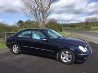 2003 Mercedes E Class Avantgarde Only 62850 Miles, 11 Months Mot, Usual Extras, Warranty