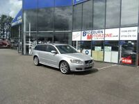 2008 58 VOLVO V50 2.4 D5 SPORT 5d 177 BHP FREE 12 MONTHS MOT **** GUARANTEED FINANCE ****