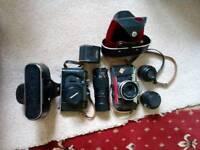Cameras for sale.