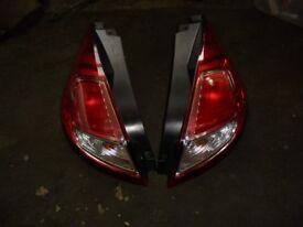 FORD FIESTA 2013-2017 Mk7.5 Rear Lights complete £20