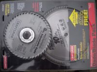 """Craftsman 8"""" Dado blade complete with a 10"""" saw blade"""