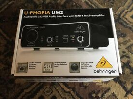Behringer UM2 USB Interface *Brand new*
