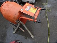 Belle 150 Cement Mixer 240 Volt with stand