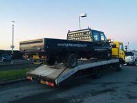 Mercedes 817 lk900 4.2 d bevertail aluminium recovery truck 6 speed new Tyres 10 ton husky winch