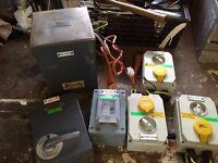 110V Volt Power Supply Unit for Workshop or Industrial Unit