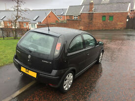 54 plate vauxhall corsa sxi 1.2 16v dec m-o-t,recent timming chain,first to see will buy £595ovno