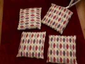 Four ikea cushions for £15