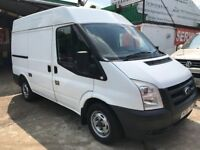 FINANCE £ 91 PR MONTH 2008 FORD TRANSIT 110 T300S FWD 2.2 DIESEL 1 OWNER 82950 GENUINE MILES 2 KEYS