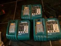 Makita battery chargers 50 onoffer