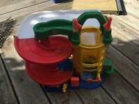 Fisher price toy garage