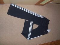 Genuine Adidas Climacool CT Core Thai Pants Black/White size UK 8/10 S