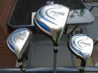 Ping golf clubs for sale