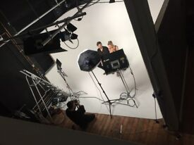 London Photography and Film Studio for Hire/ Film Cove / Lighting Included
