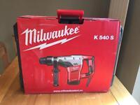 Brand New Milwaukee K540S Kango Combi Hammer Drill