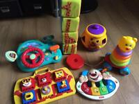 Baby and Toddler toys inc Fisher Price