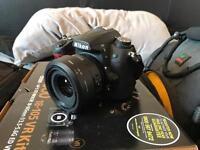 Nikon d7000 camera and photography set up
