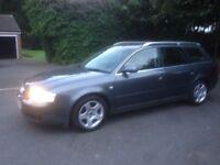 Audi A6 Avant 1.9 Tdi Se Auto 5 Door Estate Tourer Grey Leather Seats Bose 109k
