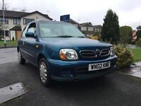 Nissan Micra 1.0 Ltr, 2002, Great Condition