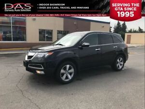 2011 Acura MDX TECHNOLOGY NAVIGATION/TV-DVD/7 PASS
