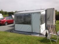 Fiamma awning-privacy room