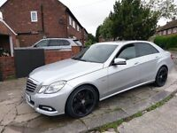 Mercedes E350 cdi twin turbo diesel ... C63 e63 sport amg