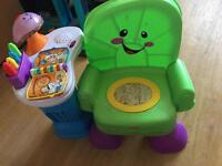 fisher price musical chair 5pounds