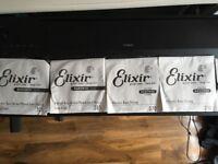 Brand New Elixir Medium Bass Strings .050-.105