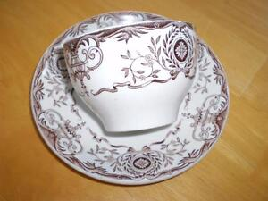 VINTAGE HOTELWARE CUP AND SAUCER