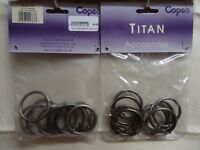 COPES TITAN Curtain Rings (65 Rings for £5)