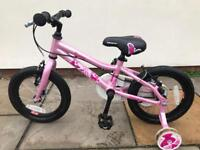 "Saracen Poppy Girls 14"" Kids Bike"