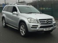 2011 MERCEDES GL350d BE * 7 SEATER * NAV * REAR SCREENS * FMBSH * LEATHER * FINANCE * PART EX *