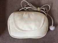 Homedics Shiatsu Pillow with heat