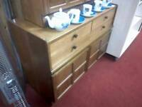 Small Parker Knoll display cabinet tcl 15016