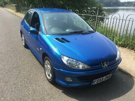 2006 Peugeot 206 Sport Full Main Dealer Maintained FSH, 77k, Lady Owner, Very Clean