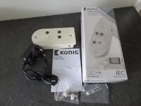Konig 2 Way TV Aerial Signal Booster Amplifier
