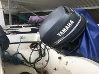 Dory 14ft Orkney inc Yamaha 25hp & Trailer