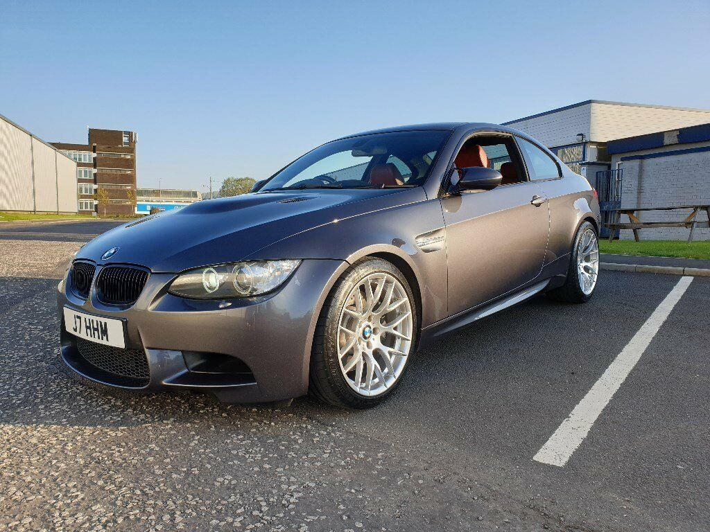 BMW E92 M3 Coupe / Sparkling Graphite Metallic / Extended Novillo Fox Red  Leather | in Paisley, Renfrewshire | Gumtree