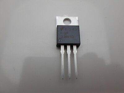 12 Pcs Fqp33n10 Fairchild 100v 33a N-channel Mosfet To-220
