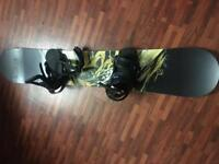Apo Snowboard 157cm with Burton Freestyle Bindings
