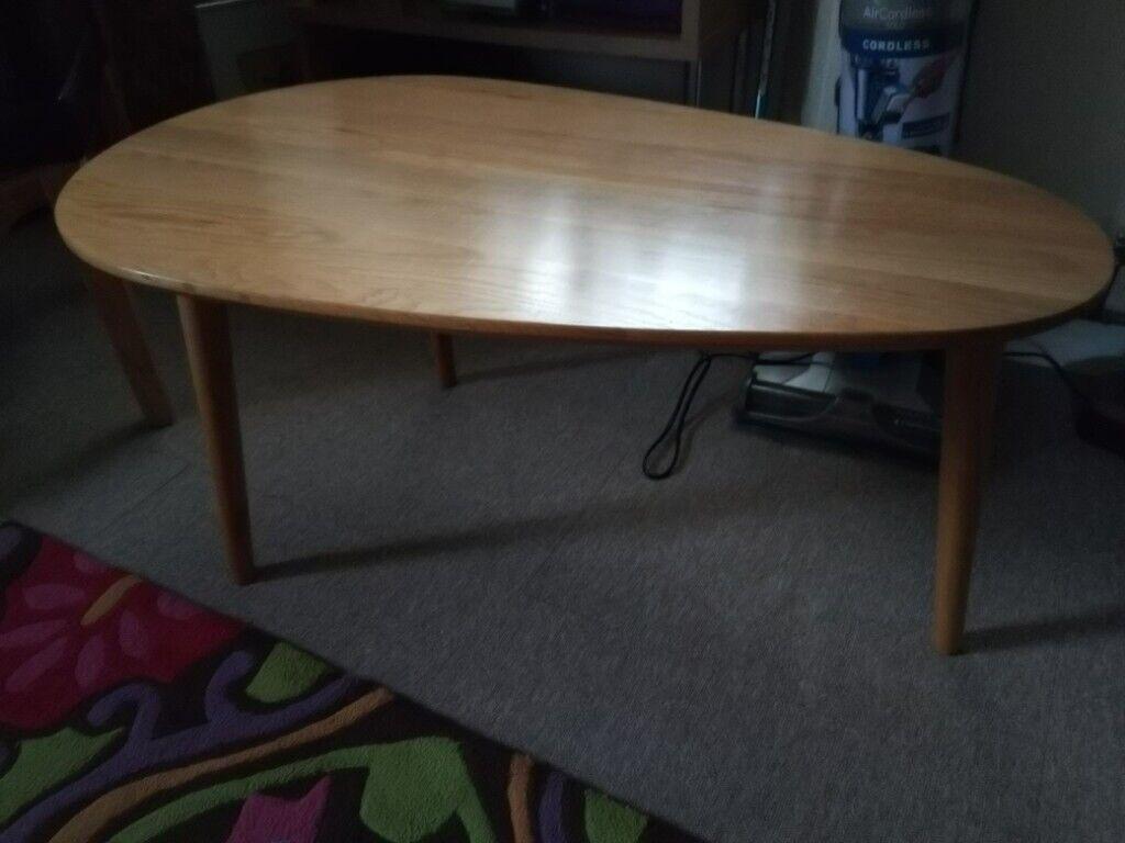 Astounding Oak Coffee Table In Elgin Moray Gumtree Machost Co Dining Chair Design Ideas Machostcouk