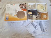 Medela swing breast pump in box