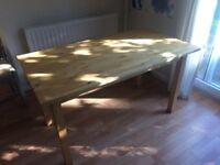 Ikea Pine dining table