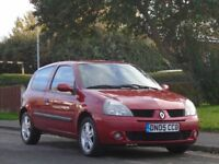 Renault Clio 1.2 Extreme 3dr£899 p/x welcome LONG MOT,LOW TAX,LOW INSURANCE